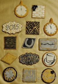Alles Gute, viel Glück und Neujahrs-Kekse