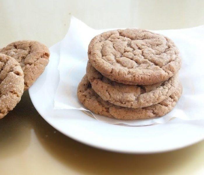 Vegane Gingersnap Cookies