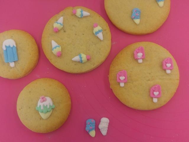 Eiscreme-Moulds für Eiscreme-Kekse