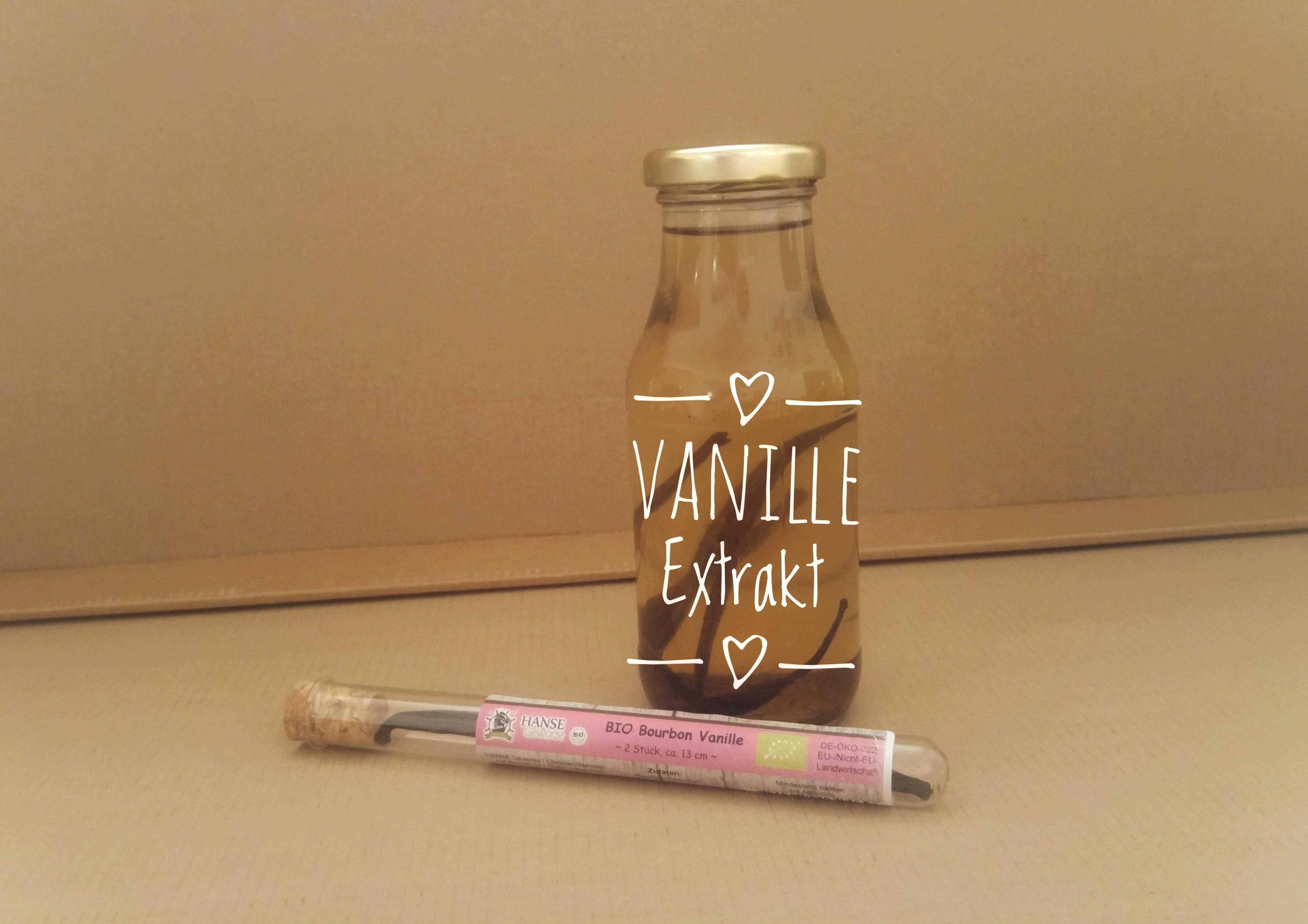 Vanille-Extrakt selbstgemacht - Käthes Kekse