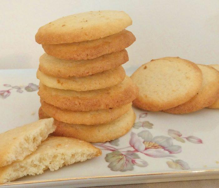 Zitronen-Extrakt und schnelle Kekse