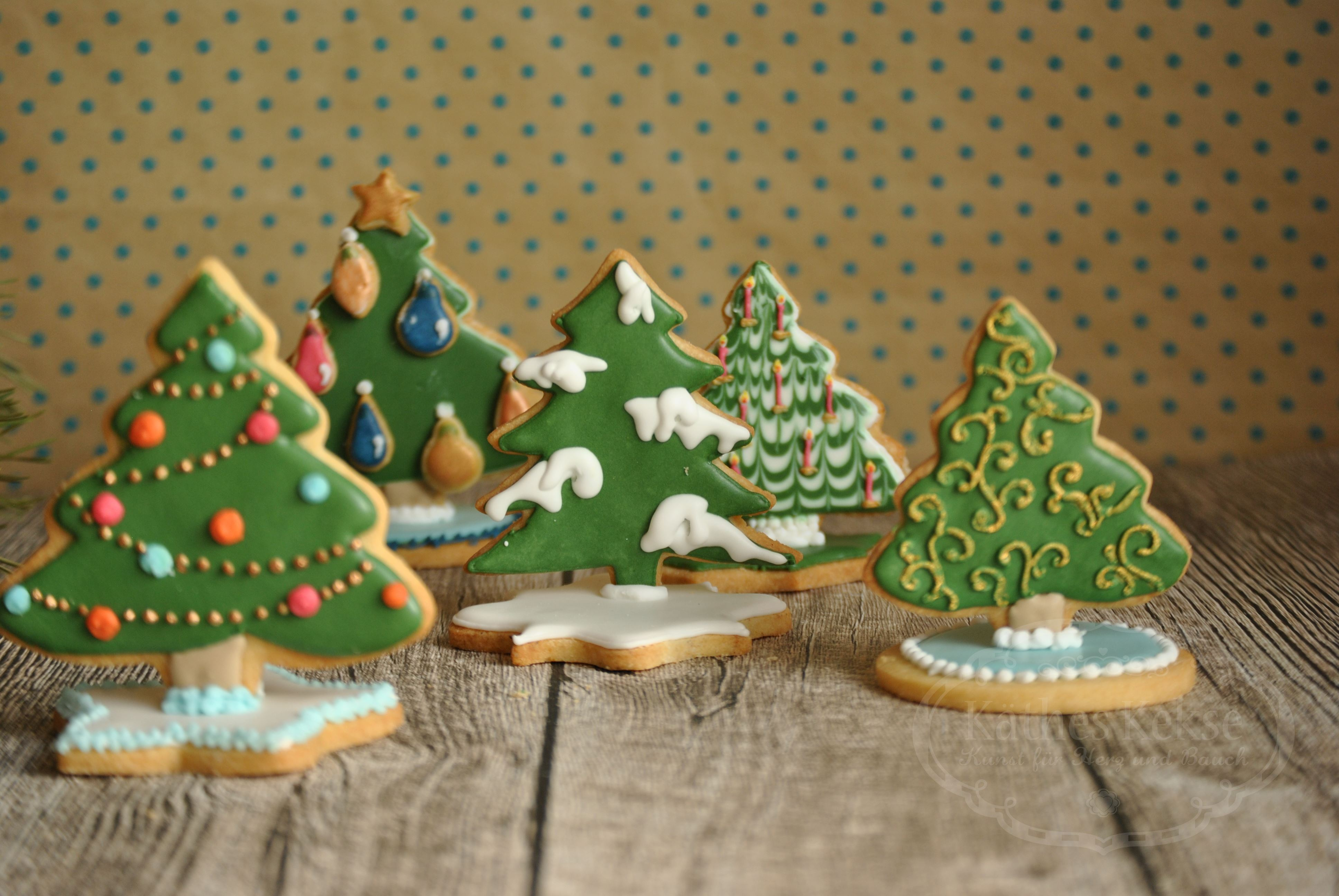 3D Kekse zum Advent