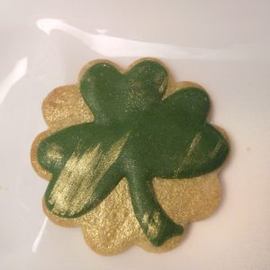 Veganes Royal Icing zum St Patricks Day