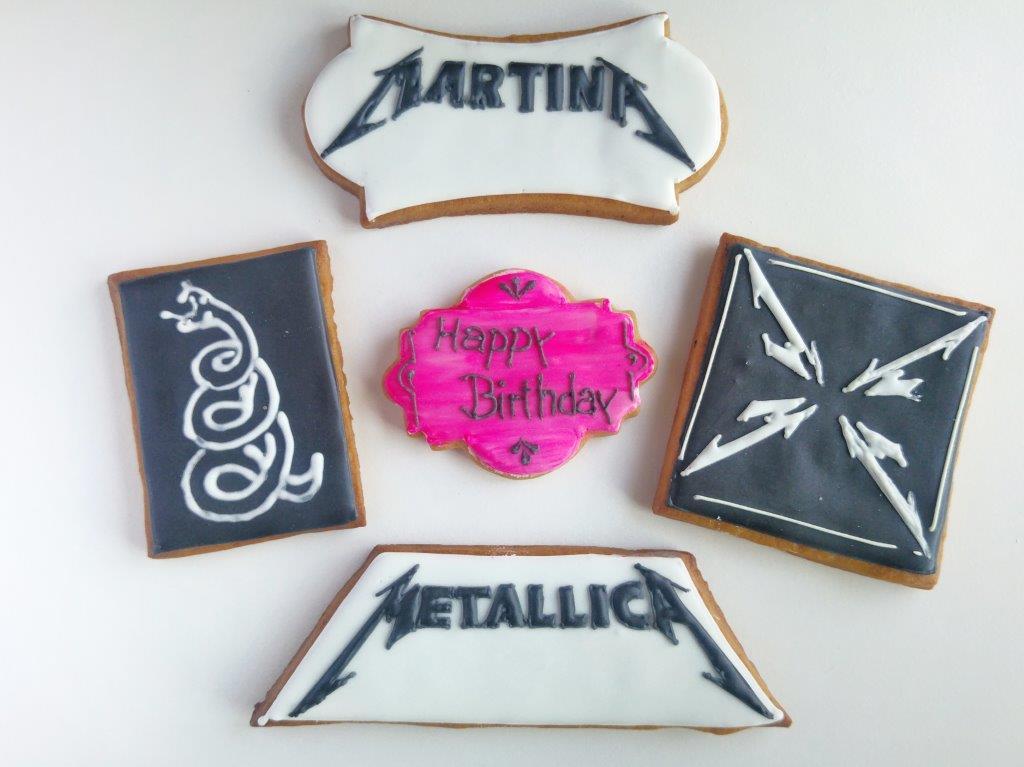 Metallica-Kekse für Frau B_Punkt