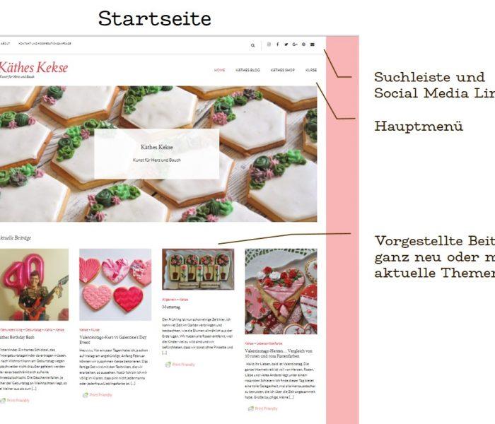 Käthes Blog Redesign